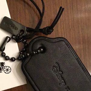 Coach Accessories - Coach x Disney Mickey Hangtag